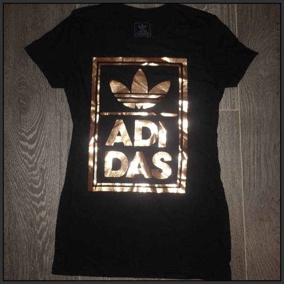adidas trefoil rose gold